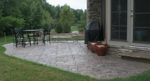 Concrete Patio Project